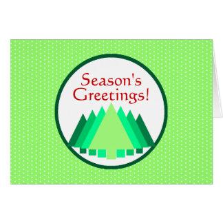 Season s Greetings Greeting Card