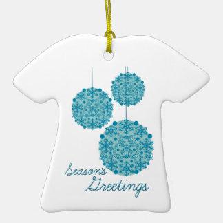 Season s Greetings Christmas Tree Ornaments