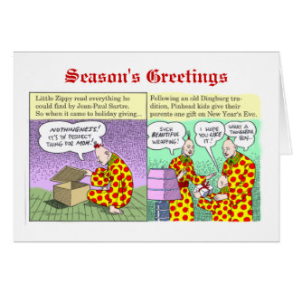 Season s Greetings from Zippy Greeting Cards