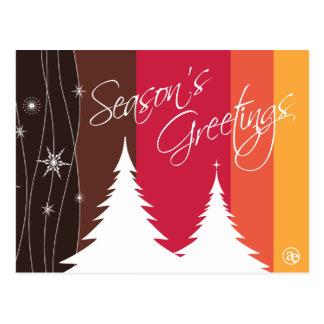 Season s Greetings Holiday Postcard