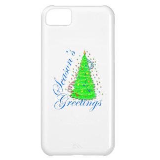 Season s Greetings Tree iPhone 5C Covers