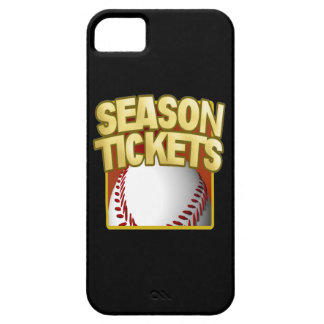 Season Tickets iPhone 5 Cover