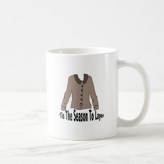 Season To Layer Coffee Mugs