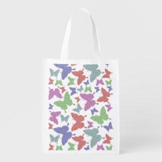 Seasonal Butterflies Reusable Shopping Bag