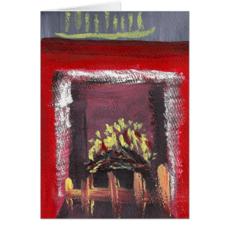 Seasonal Card Fireplace E3