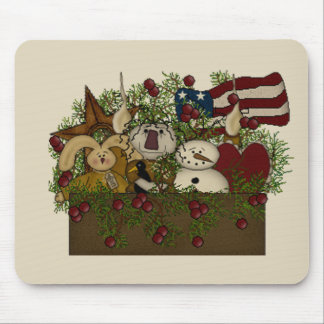Seasonal Goodie Box Mouse Pad