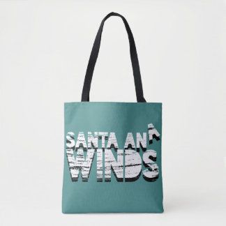 Seasonal Santa Ana Winds Tote Bag