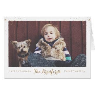 Seasonal Sparkle FOLDOVER card
