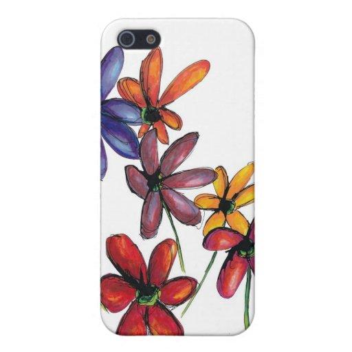 Seasonal Wildflowers iPhone 5 Case