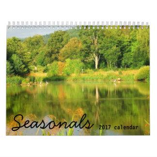 Seasonals 2017 southern hemisphere wall calendar