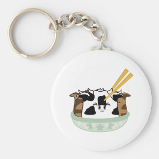 Seasoned Moo Moo Dumplings Keychain