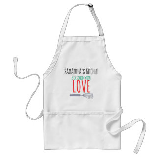 Seasoned with Love Personalized Apron
