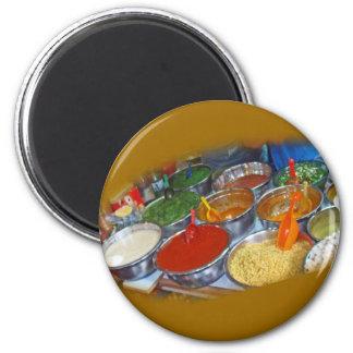 Seasonings 6 Cm Round Magnet