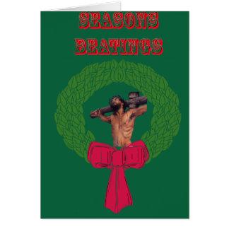 Seasons Beatings Card