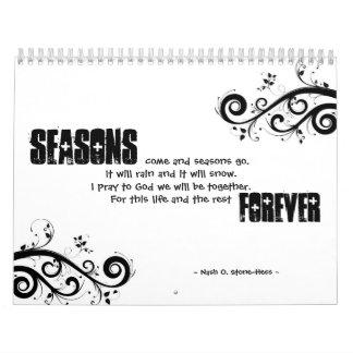 Seasons Calender Calendars