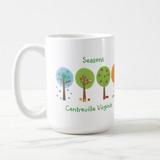 Seasons - Centreville Virginia Mug