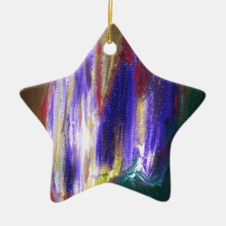Seasons Change Ceramic Star Decoration