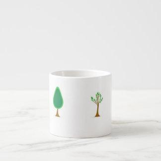 Seasons change espresso mug