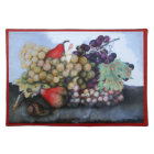 SEASON'S FRUITS 1 - GRAPES AND PEARS PLACEMAT