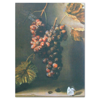 SEASON'S FRUITS,PROSPERITY Red Grapes ,Butterfly Tissue Paper