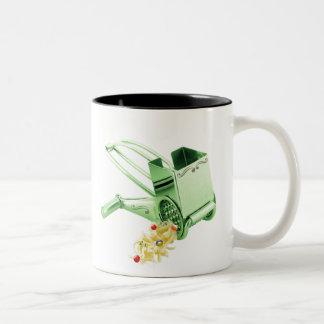 Season's Gratings Two-Tone Mug