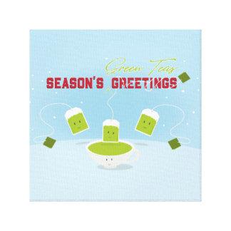 Season's Green Teas | Canvas