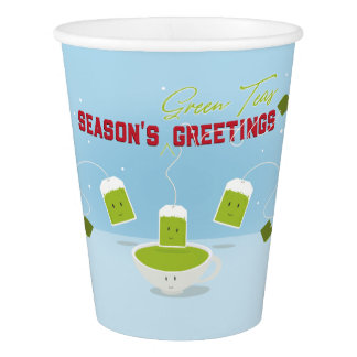 Season's Green Teas | Paper Cup