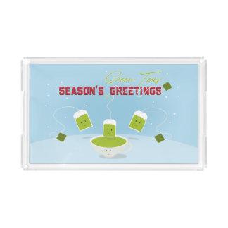 Season's Green Teas   Tray