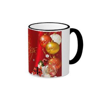 Seasons Greetings 11oz Ringer Mug