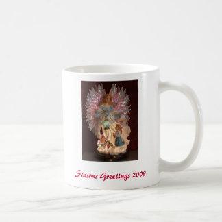 Seasons Greetings 2009 Basic White Mug