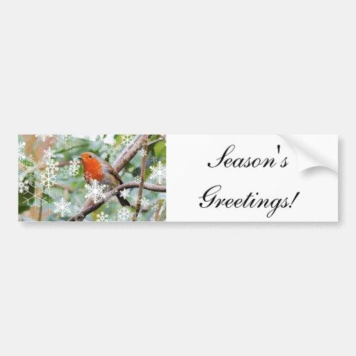 Season's Greetings! Bumper Stickers