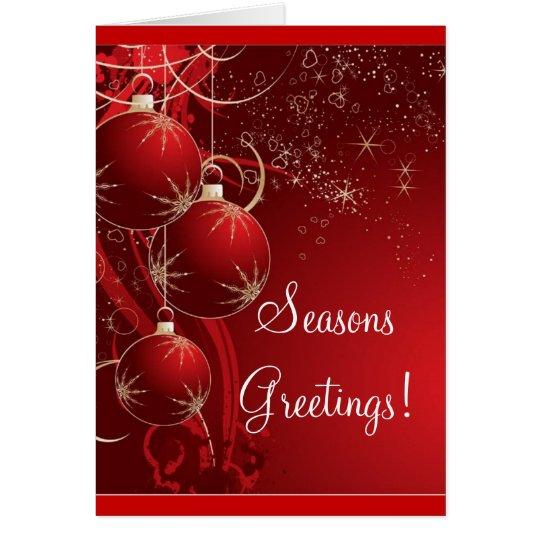 Seasons Greetings! Card