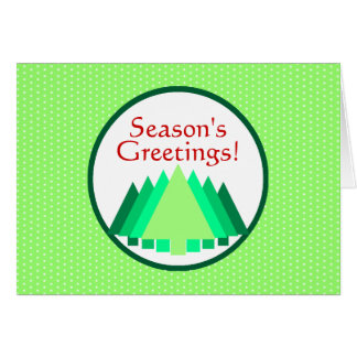 Season's Greetings! Stationery Note Card