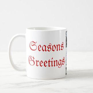 Seasons Greetings Cardinal Mug