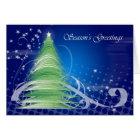 Season's Greetings Christmas Card modern design tr