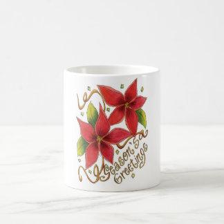 Seasons Greetings Christmas Coffee Cup Mug