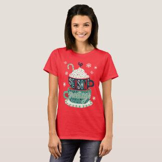 Seasons greetings Christmas holiday festive T-Shirt