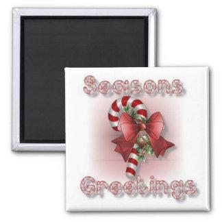 """Seasons Greetings"" Christmas Magnet"