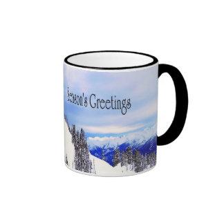 Season's Greetings Christmas Mug