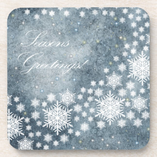 Seasons Greetings Coaster