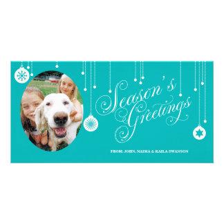 Season's Greetings Custom Photo Cards
