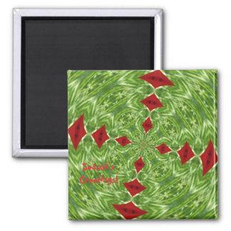Season's Greetings Customizable Magnet