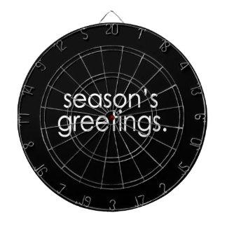 Season's Greetings Dartboard
