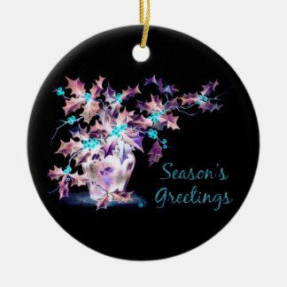 Season's Greetings Ornaments