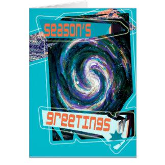 Season's Greetings from a Far Away Galaxy! Card