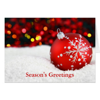 Season's Greetings From Your Avon Lady - Card