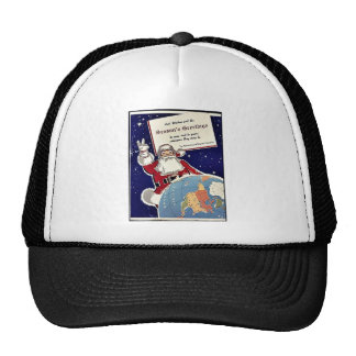 Season's Greetings Mesh Hats