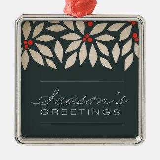 Season's Greetings Holiday Ornament