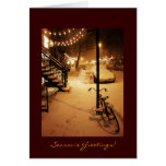 Season's Greetings - Holiday - Snowfall New York