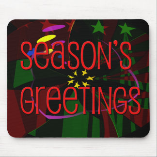 seasons greetings II Mousepads